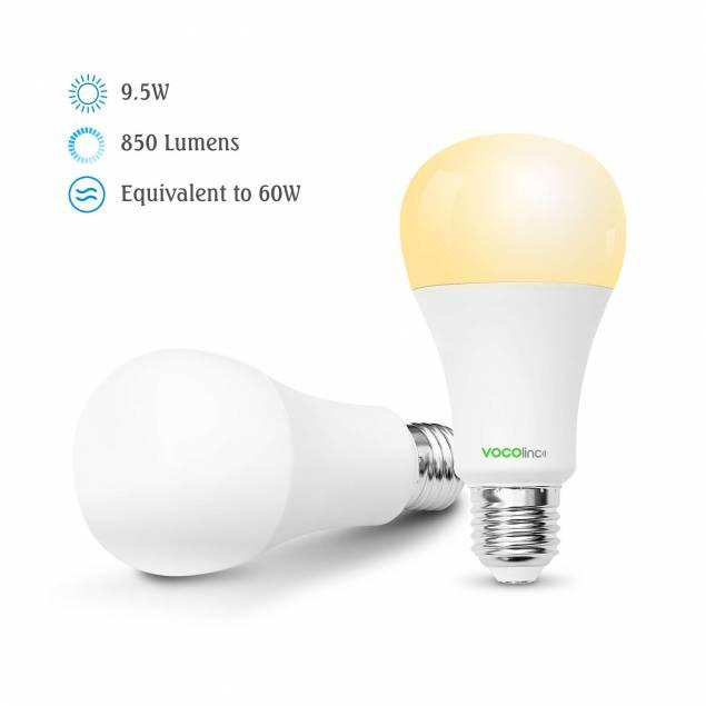 VOCOlinc L3 smart LED farve pære med Homekit E26/E27 A21/A67