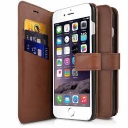 ITSKINS Book omslag og bagcover i et til iPhone 6/6S/7/8 Brun