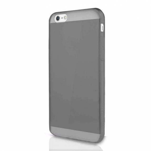 ITSKINS Gel Cover iPhone 5/5S/SE Gennemsigtigt sort