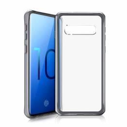 ITSKINS Cover til Samsung Galaxy S10 Gennemsigtigt Sort/Klar