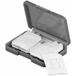 Goobay beskyttelsesboks til hukommelseskort 4x SD