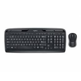 Logitech trådløs skrivebord (Mus+tastatur) MK330 (m. æøå)