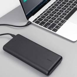 Aukey 26.800 mAh Powerbank m. USB-C & USB-A 45W