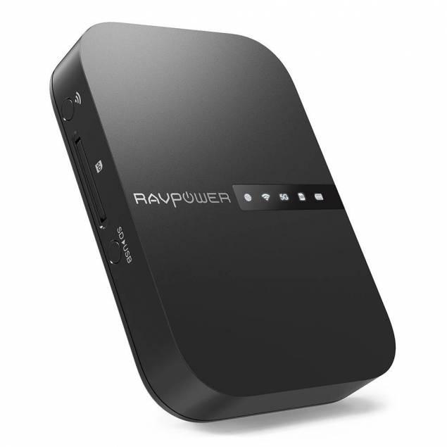 Ravpower Wireless Filehub wifi disk til din iOS enhed