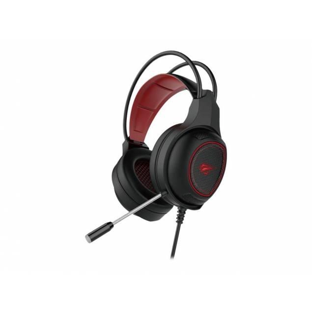 Havit Gaming headset sort/rødt