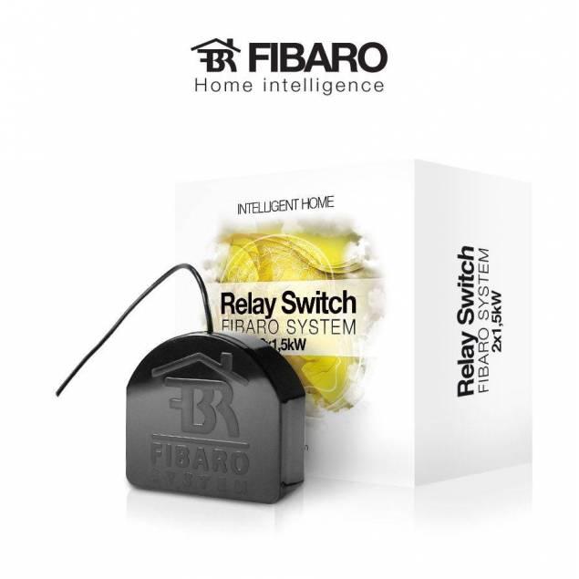 Fibaro Relay Switch 2 * 1.5 KW