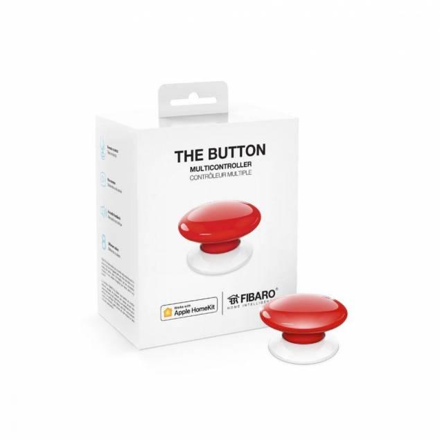 Fibaro The Button HomeKit - red