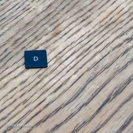 D knap til Macbook