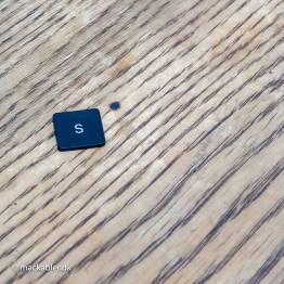 S knap til Macbook