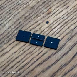 ⬆︎ Pil opad knap til Macbook