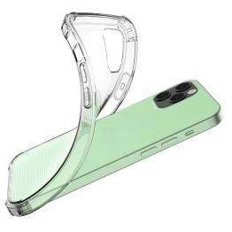 """iPhone 12 / 12 Pro 6,1"""" silikone cover med stødpuder"""