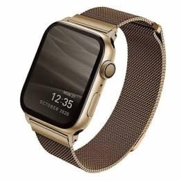 QNIQ Dante Milanese Loop rem til Apple watch 42/44 mm.